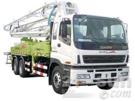 鸿得利重工HDL5270THB(37M)臂架式混凝土泵车