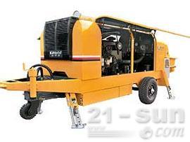 鸿得利重工HBT85-15-158S拖泵(柴油)