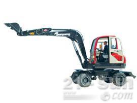 詹阳动力JYL606轮式挖掘机