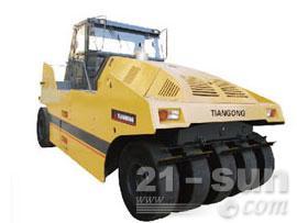 鼎盛重工LRS1626轮胎压路机