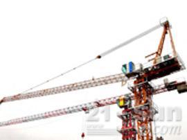 四川强力动臂4塔式起重机图片