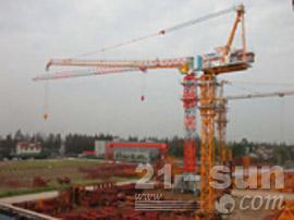 四川强力动臂3塔式起重机图片