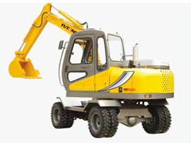福工FUT550轮式挖掘机