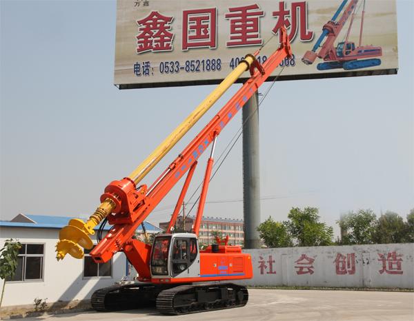 鑫国重机XGR180旋挖钻机图片