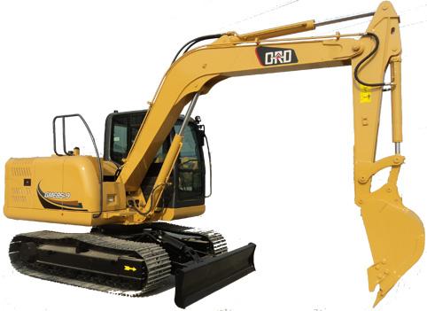 格瑞德GME85-9挖掘机外观图1