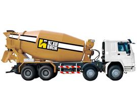 博汇机械XZQ5313GJBN3267C混凝土搅拌运输车