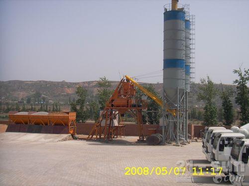 海州机械HZS75搅拌站