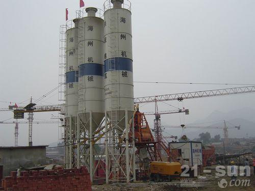 海州机械HZS50搅拌站