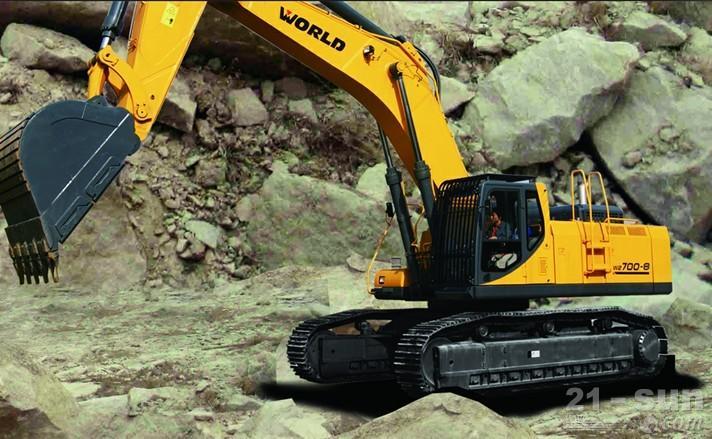 沃得重工W2700-8挖掘机