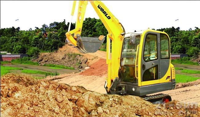 沃得重工W235挖掘机