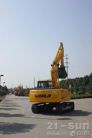 沃得重工W2150-8挖掘机外观图3