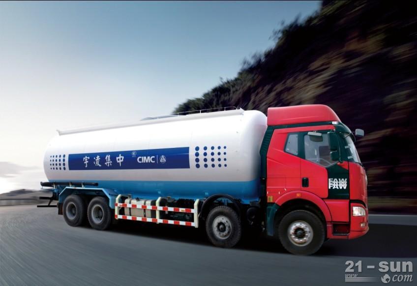 凌宇汽车ZJV5312GFLLY2粉粒物料运输车图片