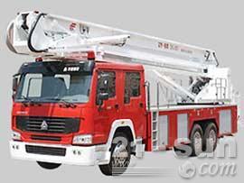 山推DG40登高平台消防车