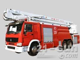 山推JP40消防车