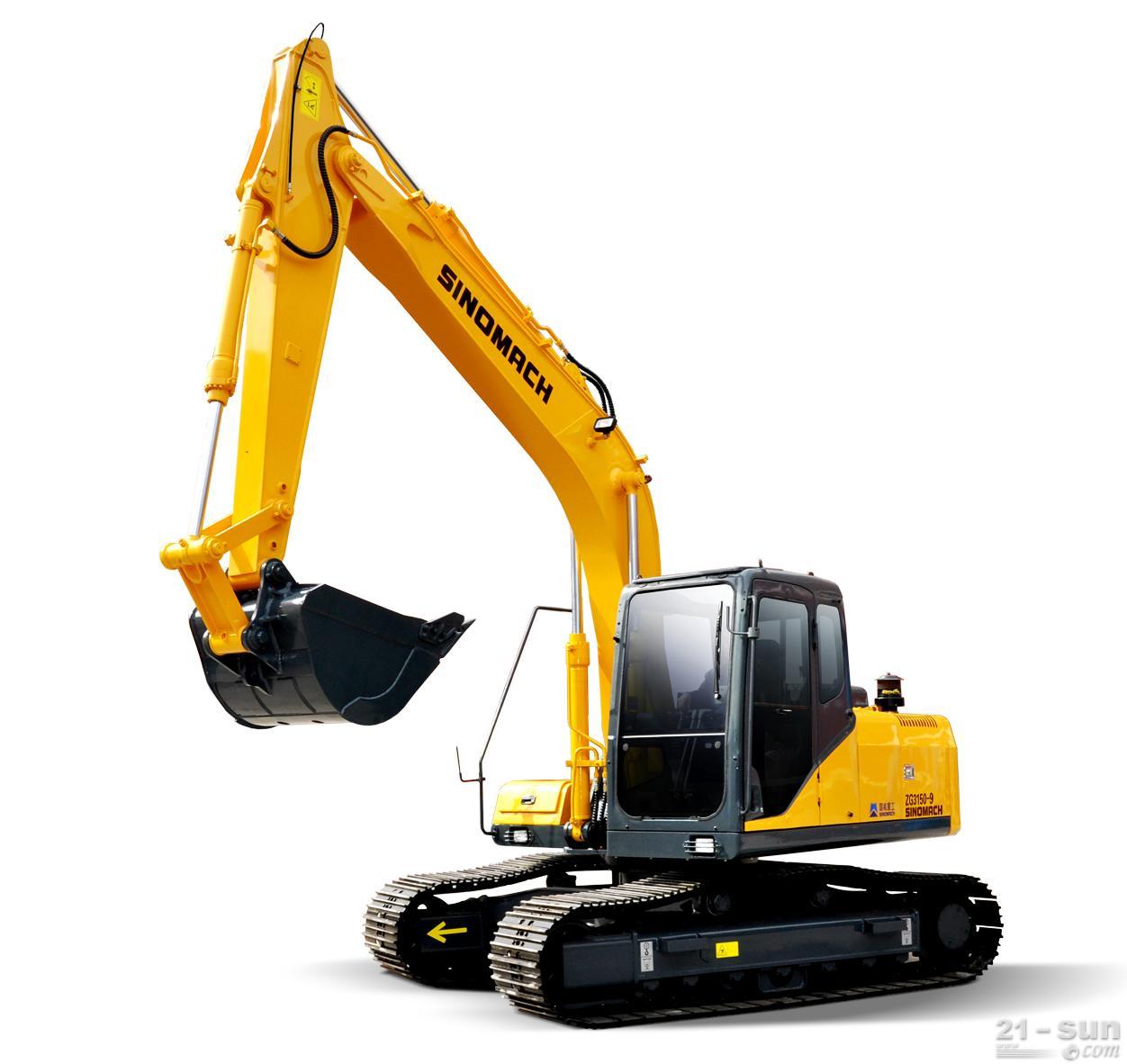 国机重工ZG3150-9挖掘机图片