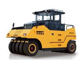 万邦重科MTR302轮胎压路机