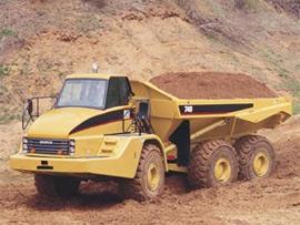 卡特彼勒740铰接式自卸卡车