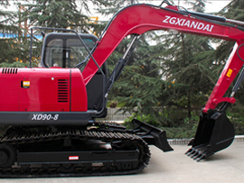 中国现代XD90-8挖掘机