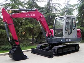中国现代XD65(0)-8挖掘机