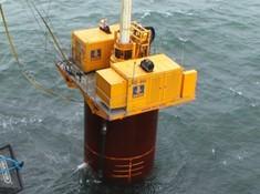 德国宝峨水上旋挖钻机图片