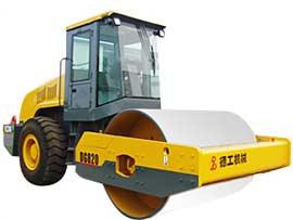 德工DG820单钢轮压路机图片