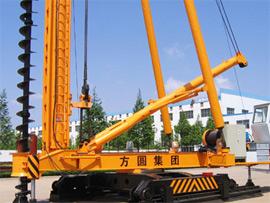 方圆集团JZB90步履式桩机