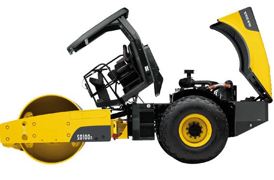 沃尔沃SD150D单钢轮压路机