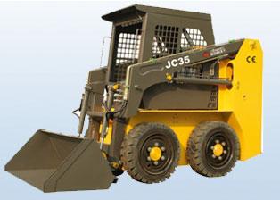 鲁岳JC 35滑移装载机图片