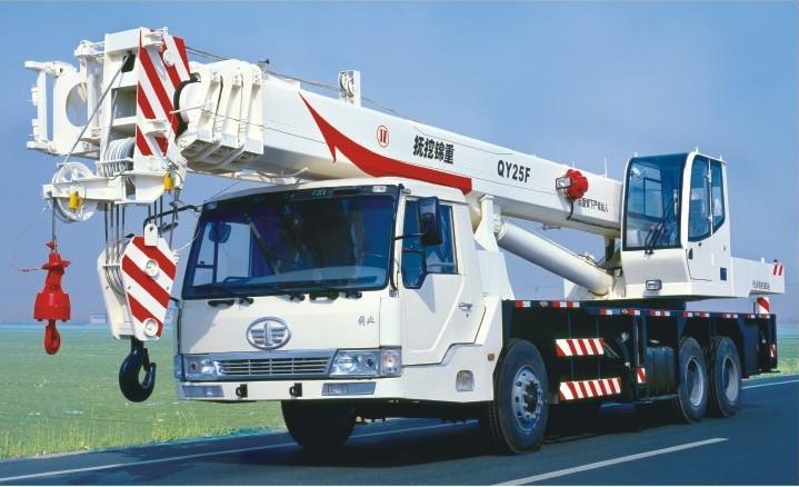 抚挖重工QY25F汽车起重机