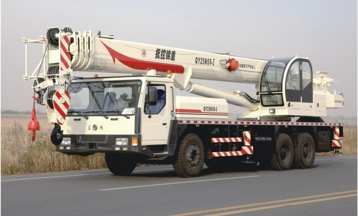 抚挖重工QY25N5S-1汽车起重机