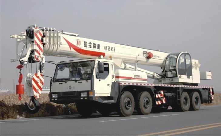 抚挖重工QY55N5S汽车起重机