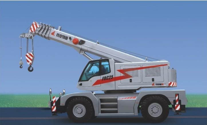抚挖重工FRC25汽车起重机