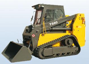 鲁岳TS80滑移装载机图片