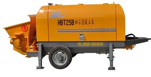 海州机械HBT25-8-30S输送泵