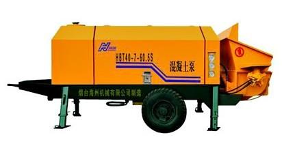 海州机械HBT40-7-60.5S输送泵