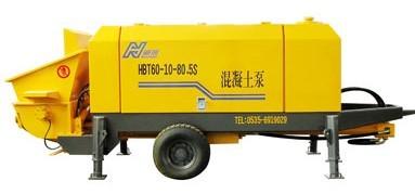 海州机械HBT60-10-80.5S输送泵