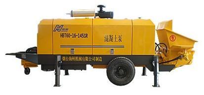 海州机械HBT60-16-145SR输送泵