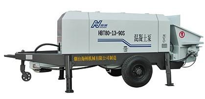 海州机械HBT80-13-90S输送泵