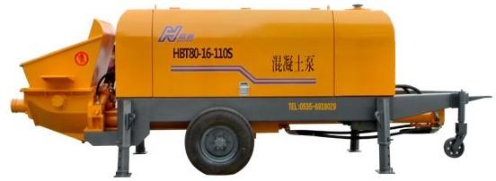海州机械HBT80-16-110S输送泵