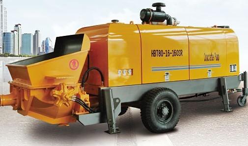 海州机械HBT80-16-160SR输送泵
