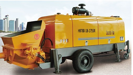 海州机械HBT80-18-175SR输送泵
