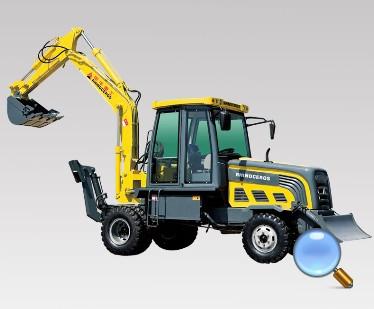 犀牛重工XNW51180挖掘装载机