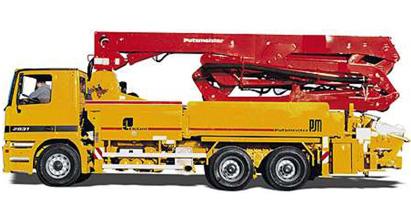 普茨迈斯特M 31-5混凝土泵车