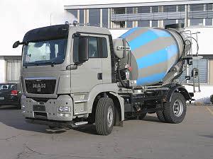 利勃海尔HTM 504混凝土搅拌运输车