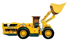 山挖重工SJ75地下铲运机图片