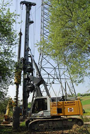 利勃海尔LB20旋挖钻机