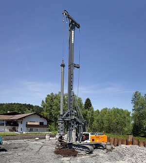 利勃海尔LB36旋挖钻机