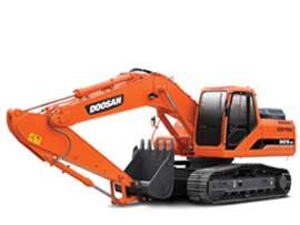 斗山DH215-9挖掘机图片