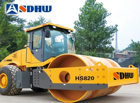 华伟重工HS820振动压路机