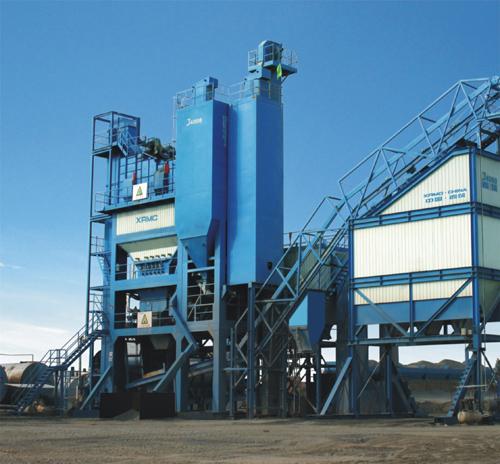 中交西筑J4000沥青混合料搅拌设备外观图1